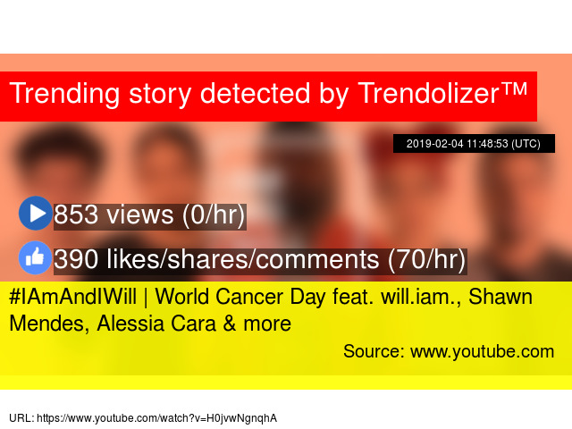 IAmAndIWill | World Cancer Day feat  will iam , Shawn Mendes