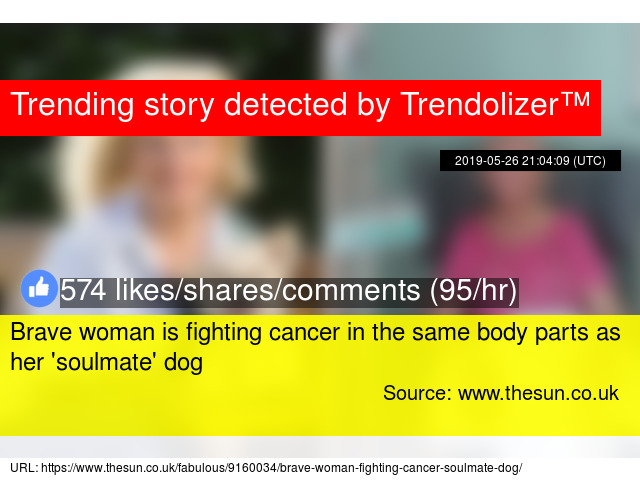 Brave woman is fighting cancer in the same body parts as her '